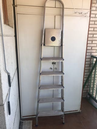 Vendo escalera de aluminio
