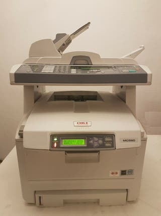 IMPRESORA LASER COLOR MULTIFUNCION OKI MC560