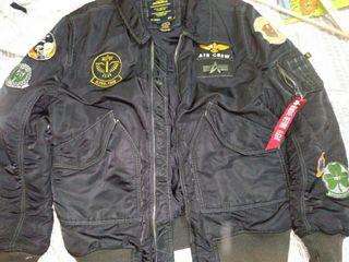 Alpha industries chaqueta original como nueva
