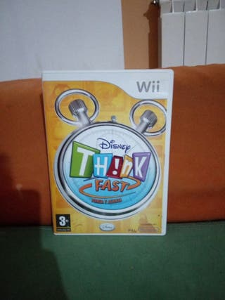 Disney Think Fast [Wii]