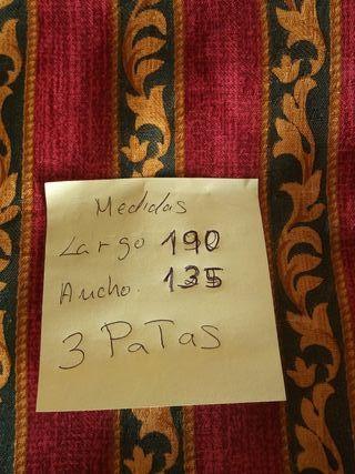3 PATA DE CORTINA SÓLO 15 EUROS