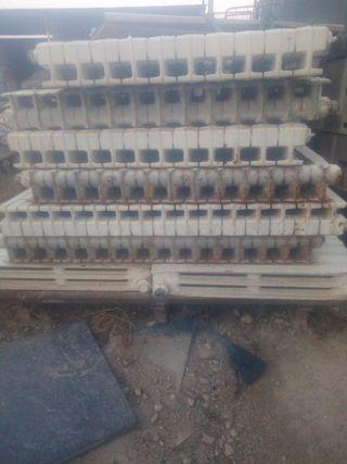 radiadores calefacción caldera
