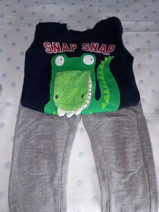 Pantalones y jersey niño 2años