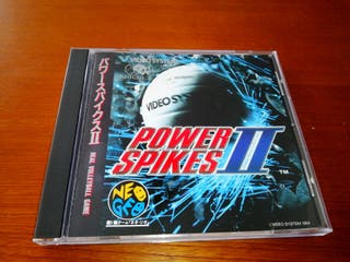 POWER SPIKES II SPINE CARD Neo Geo CD NEOGEO SNK