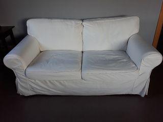 Sofa Ikea Ektorp 2 plazas blanco