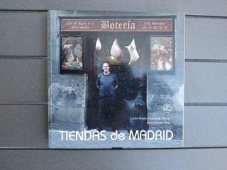 """Libro """"Tiendas de Madrid"""". Nuevo."""