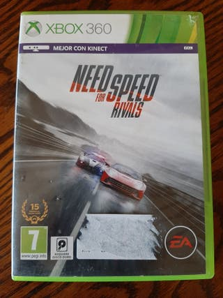 NEED FOR SPEED KINECT XBOX 360