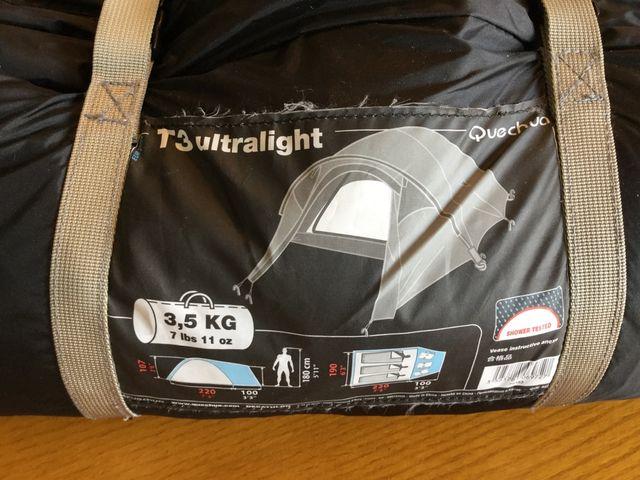 Tienda de campaña T3 ultralight