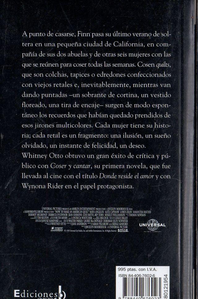 LIBRO COLECCION VIP DONDE RESIDE EL AMOR DE WHITN
