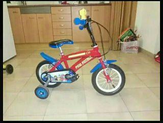 "bicicleta patrulla canina 12"" +2 3-6 años"