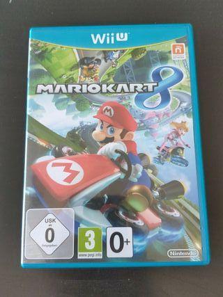juego Mario kart 8 de Nintendo Wii u