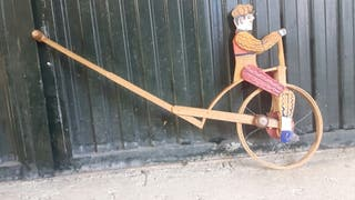 Juguetes de madera,velocipedo