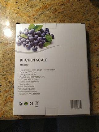 balanza de cocina, nuevo