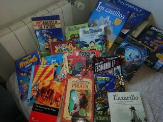Lote 15 libros