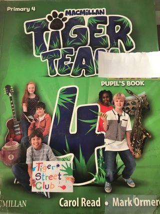 Tiger Team como nuevo 4 primaria