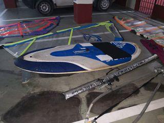 equipo windsurf iniciación