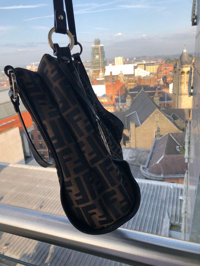 Vintage Fendi Zucca Handbag