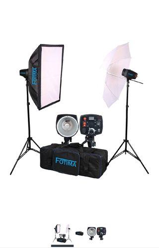Kit Flash de Estudio Fotima FTF-160