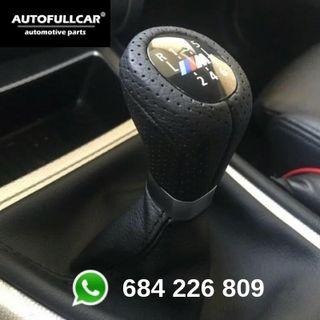 POMO BMW CUERO PERFORADO CON FUELLE
