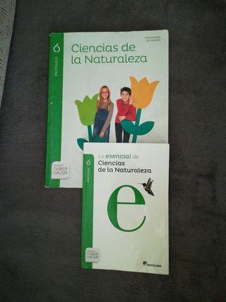 Libro de naturales 6° de primaria