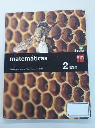 LIBRO MATEMÁTICAS 2 ESO SAVIA