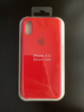 FUNDA ORIGINAL ROJA IPHONE X Y IPHONE XS