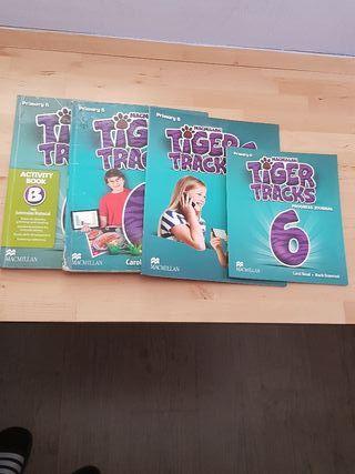 Libros Inglés 6°de Primaria Macmillan Tiger Tracks