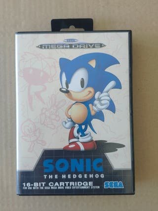 juego Sonic de sega mega Drive completo