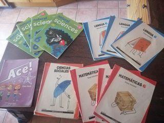 libros sexto de primaria, se venden por separados,