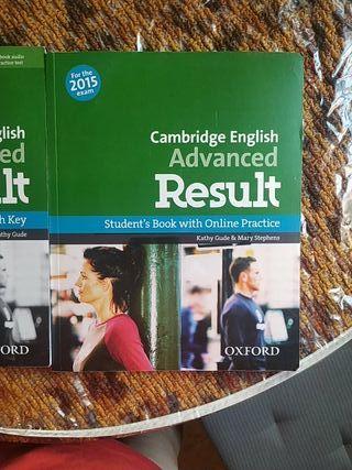 libros C1 inglés. Cambridge english advanced