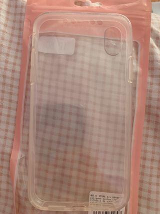 Funda transparente iPhone XR