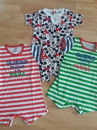 lote 3 pijamas bebé