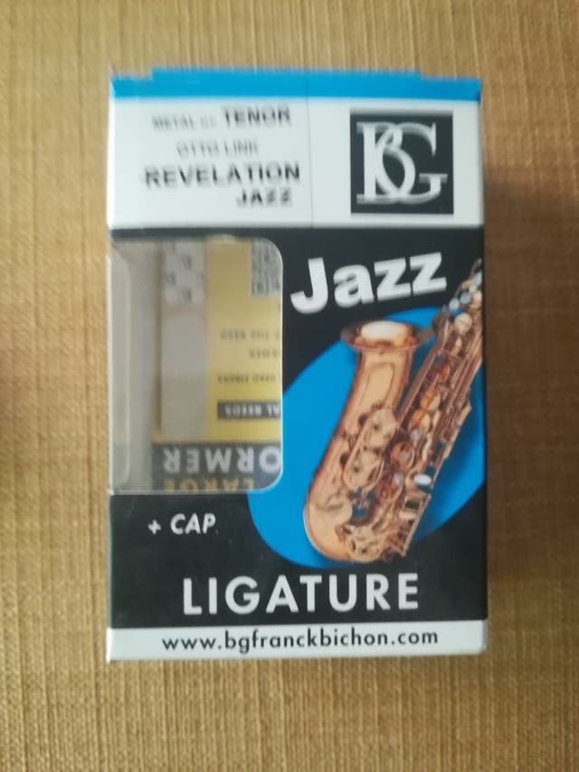abrazadera saxo tenor otto link bg