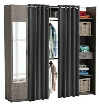 Kit armario extensible vestidor armario ropero