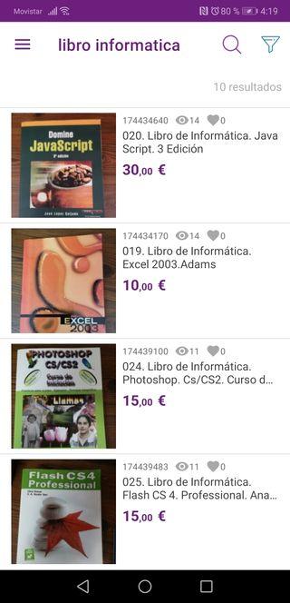 Libros de Informática. C/C. photoshop. Flash cs4.