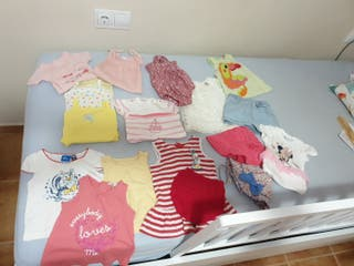 lote ropa niña aprox 3 meses