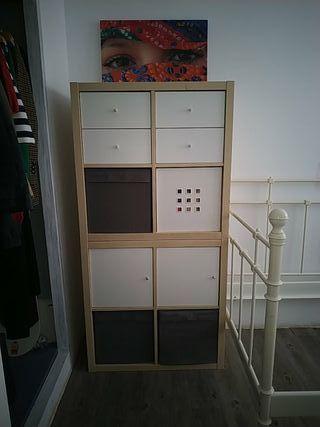 Mueble cuadrados de Ikea