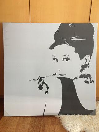 Cuadro IKEA Audrey Hepburn NUEVO