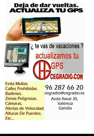 Actualizamos tu GPS