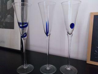 6 copas cava diseño