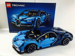 Lego Technic 42083 Bugatti Chiron - Usado