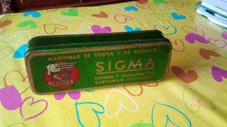 Caja antigua Sigma