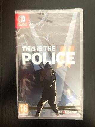 This si The police NUEVO precintado switch