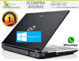 """Portátil Fujitsu S760, i3 / HDMI / 13.3"""" / Windows"""
