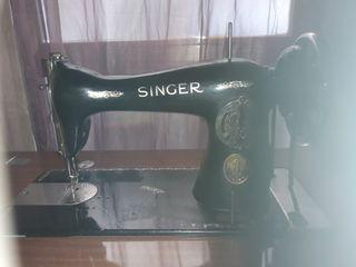 Máquina coser Singer antigua