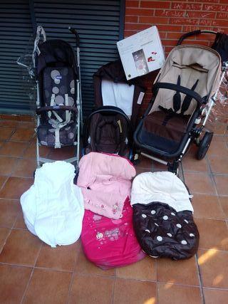 Bugaboo camaleon + maxi-cosi +silla