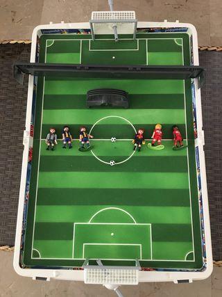 Futbolín Playmobil maletín