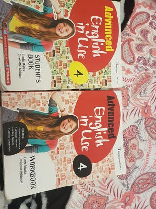 Libros texto Advanced English in Use 4 Eso