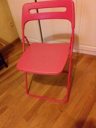 silla plegable escolar