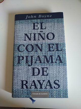 libro el niño con el pijama de rayas de John Boyne